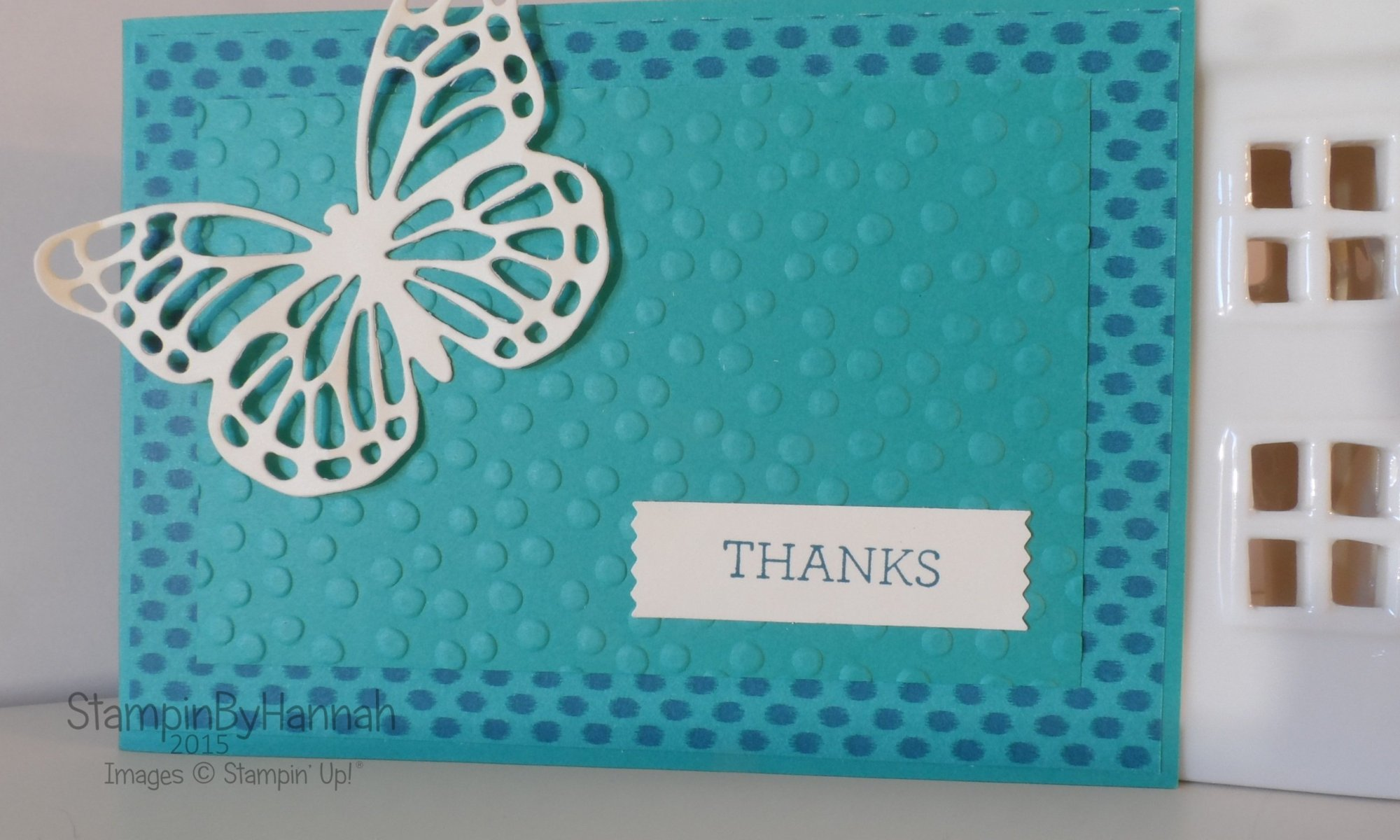 Stampin' Up! Butterfly thinlit Precision base plate how to