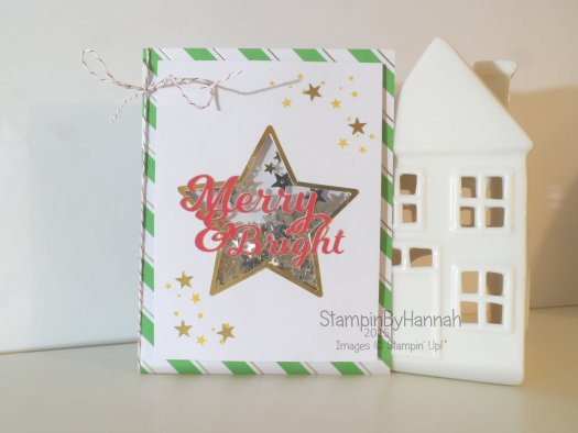 Stampin' Up! UK Shaker card video tutorial