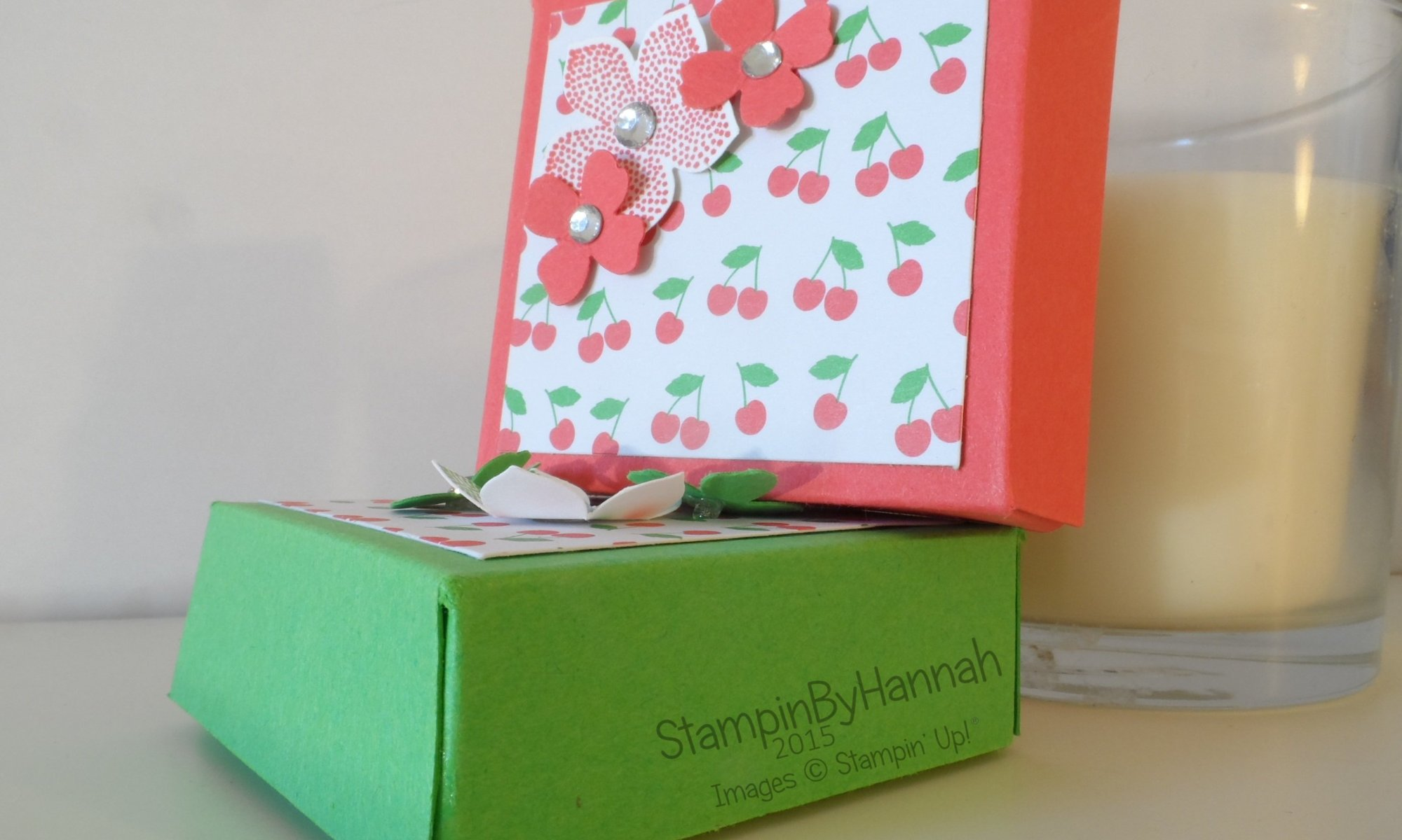 Stampin' Up! UK box tutorials