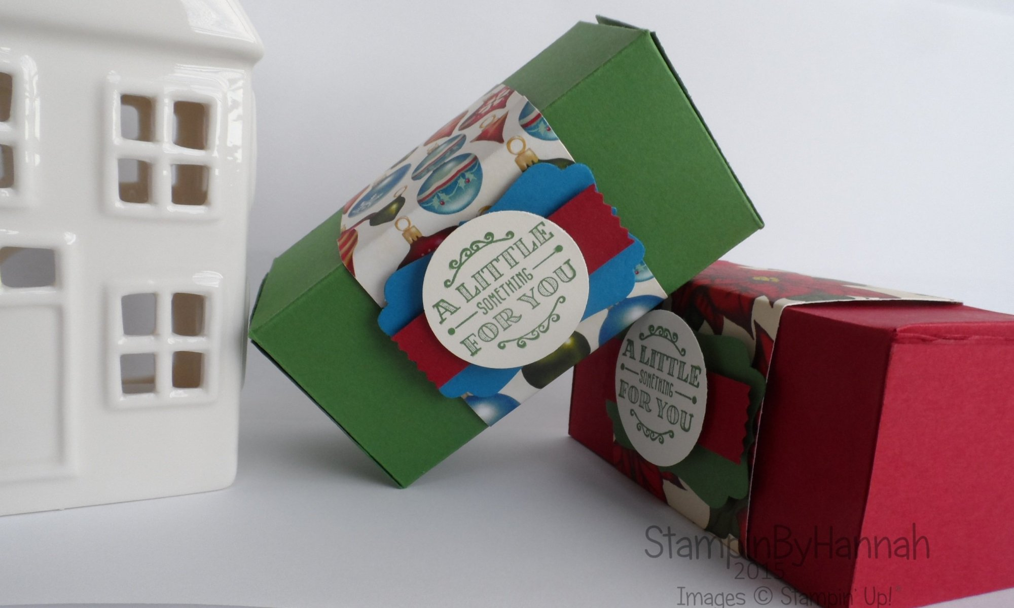 Stampin' Up! UK chocolate box video tutorial
