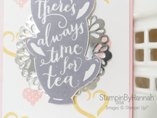 Stampin' Up! UK Theres always time for tea