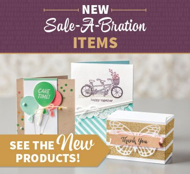 Stampin' Up! UK Sale-a-bration New Items