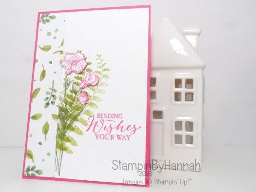 Stampin' Up! UK Butterfly Basics English Garden Card