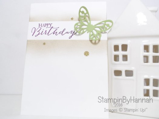 Stampin' Up! UK Global Design Project Butterfly Basics