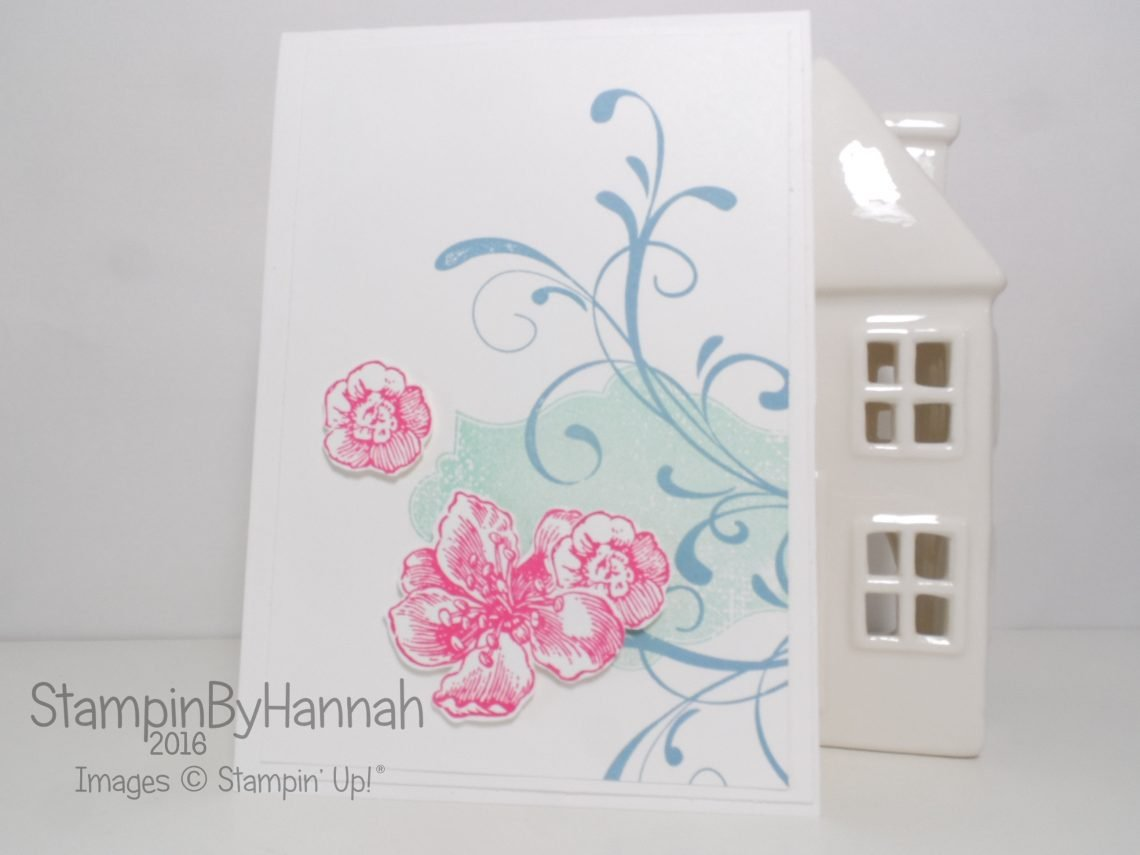 Everything Eleanor Just Because Card using Stampin' Up! products