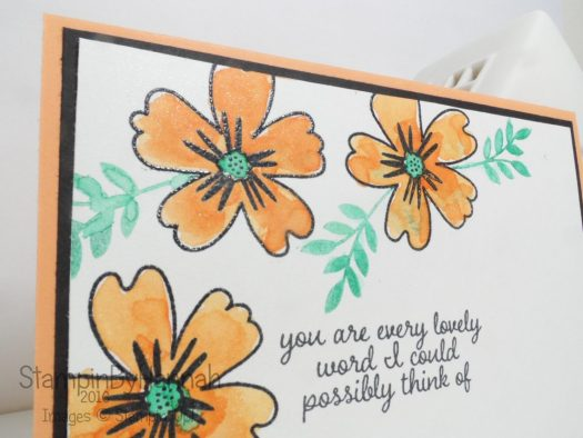 Love and Affection Peekaboo Peach from Stampin' Up! UK