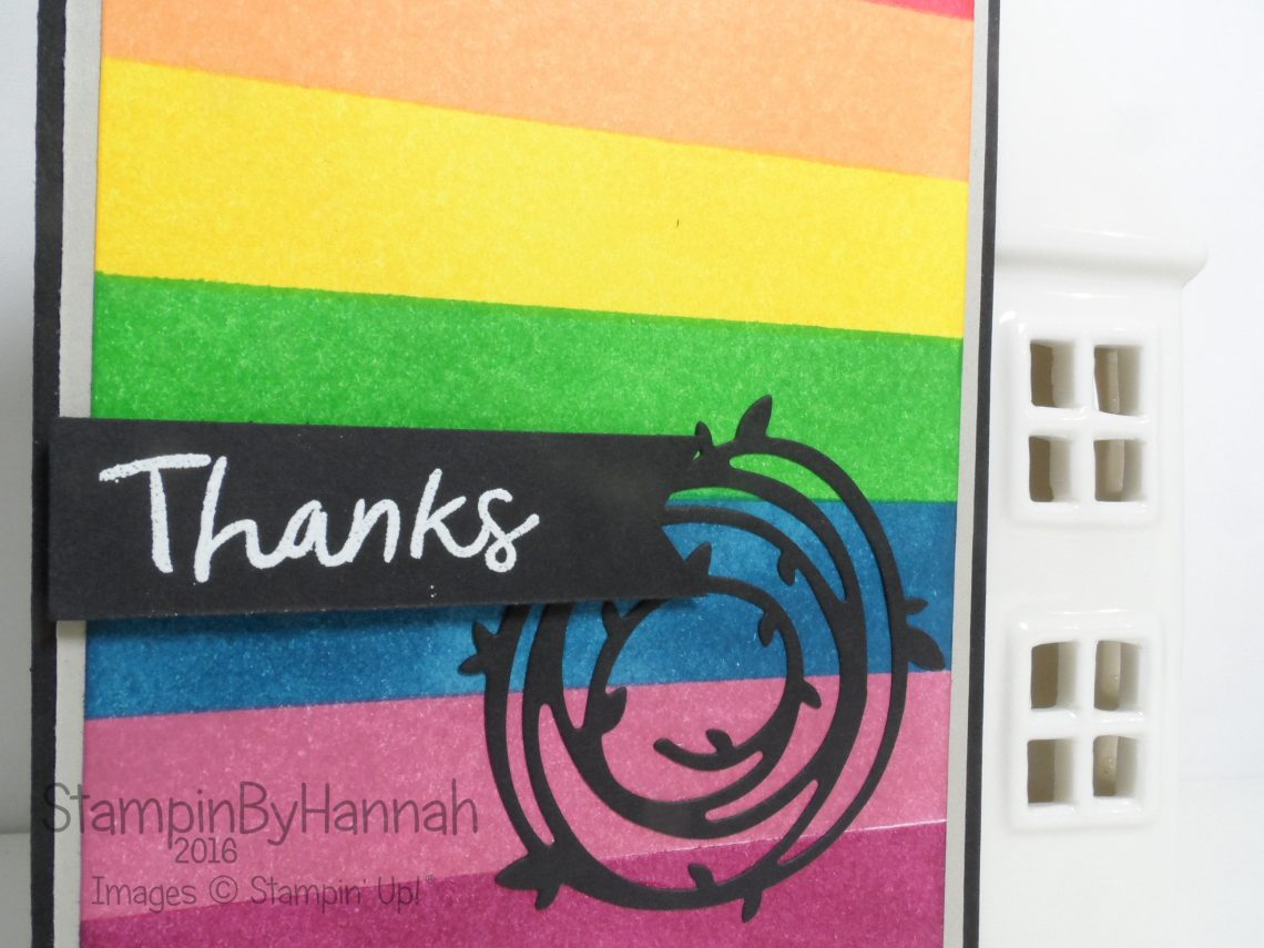Make It Monday using Thankful Thoughts Swirly Scribbles From Stampin' Up! UK