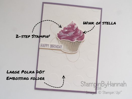 Sweet Cupcake From Stampin' Up! UK