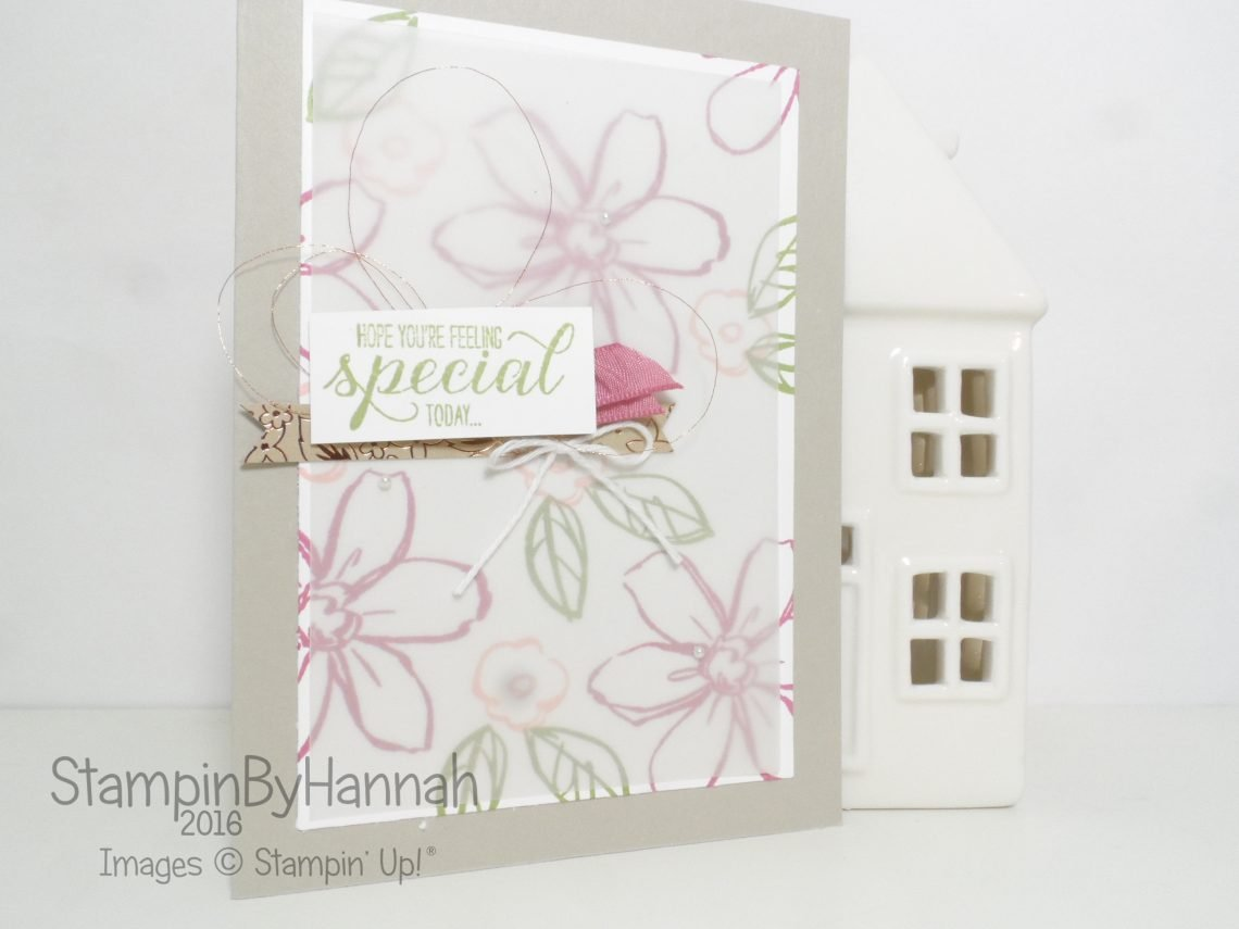 Garden In Bloom Stampin' Up! UK