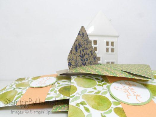 Summer Customer Thank You Gifts Teanbag envelopes Make it Monday Video tutorial using Stampin' Up! UK Designer Series Paper