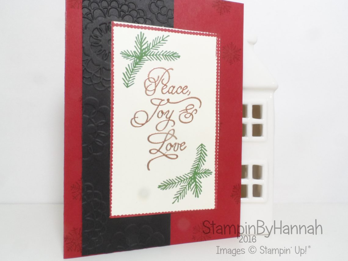 Christmas in July Video Featuring Peace this Christmas from Stampin' Up! UK