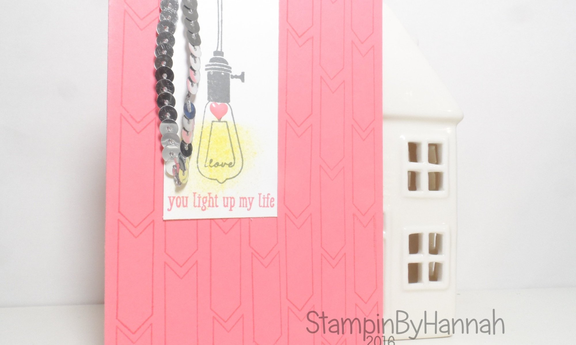 Quick and Easy card using Pun Intended from Stampin' Up! UK