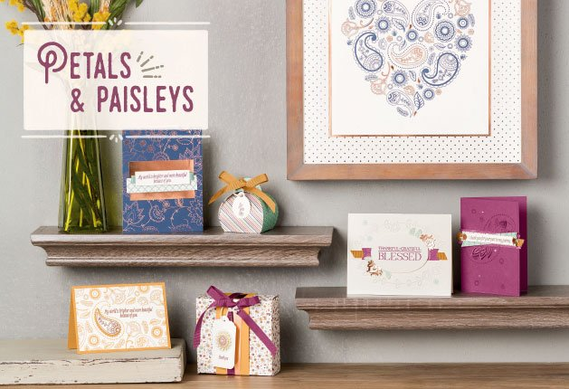 Petals and Paisleys Suite Stamp of the month club