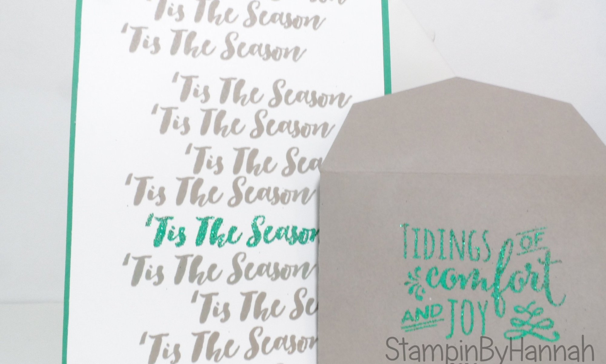 Make it Monday Video Tutorial using Christmas Pines from Stampin' Up! UK