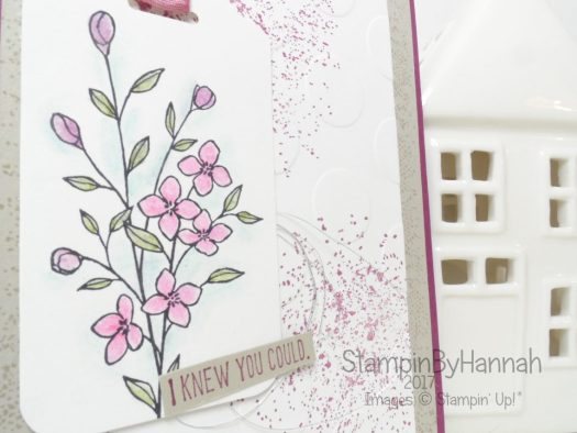 Timeless Textures Congratulations Card using Stampin' Up! UK Stamps