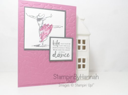 Video Tutorial featuring Beautiful You from Stampin' Up! UK