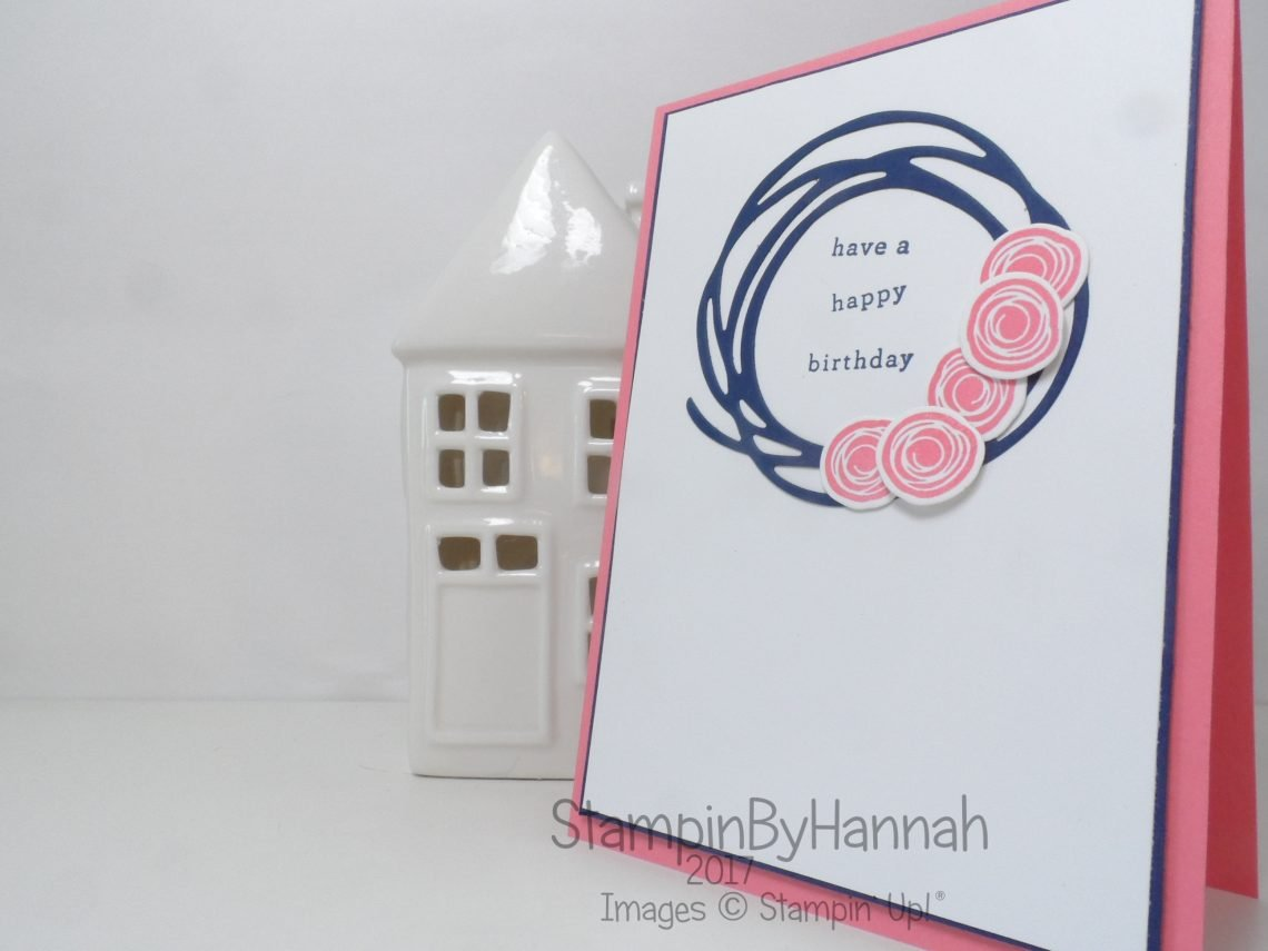 Global Design Project #081 Endless Birthday Wishes with Swirly Bird Stampin' Up! Birthday Card