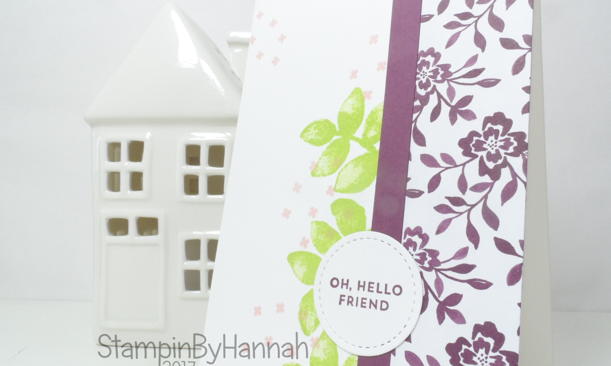 Make It Monday Video Tutorial Quick and Easy Thank You Cards using Oh So Eclectic and Fresh Florals From Stampin' Up!