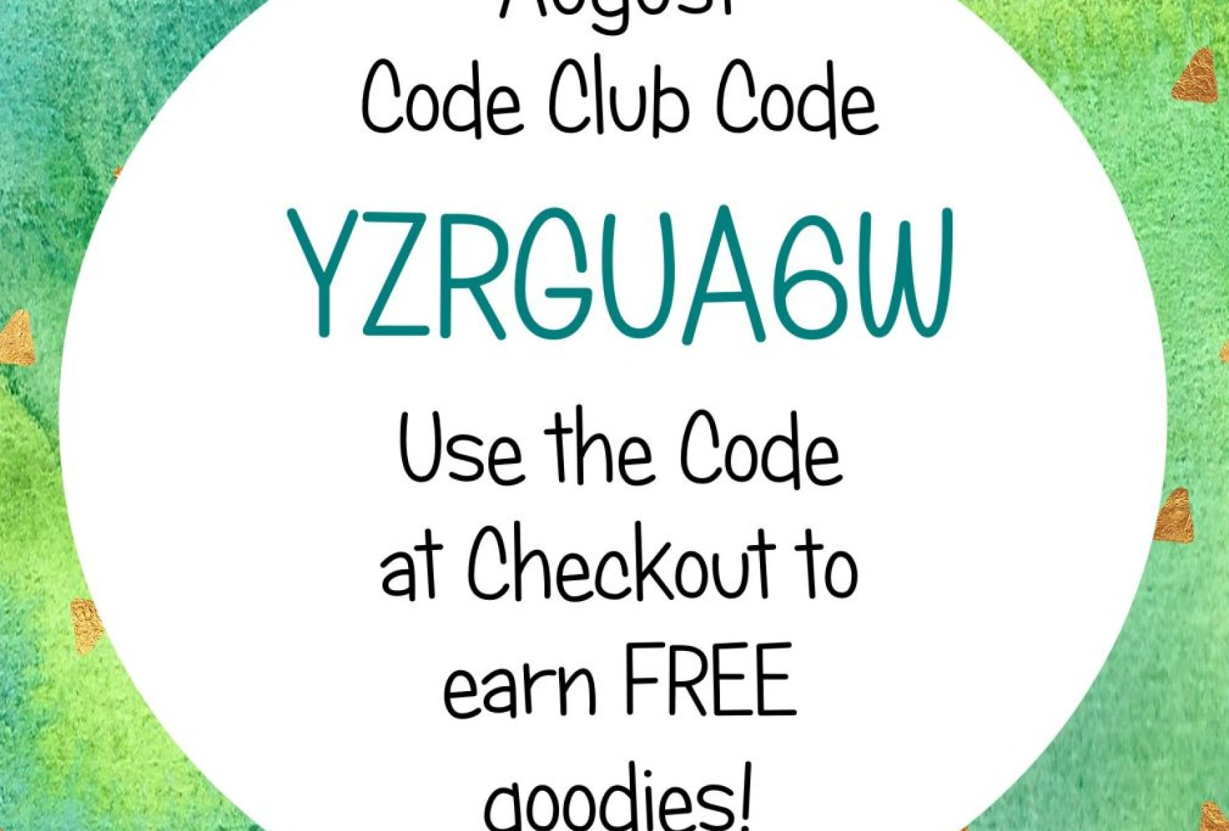 Stampin' Rewards Hostess Code Club Code August 2017