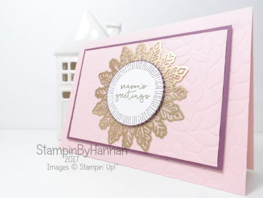 Cheers to the Year Seasons Greetings Christmas Card using Stampin' Up! products