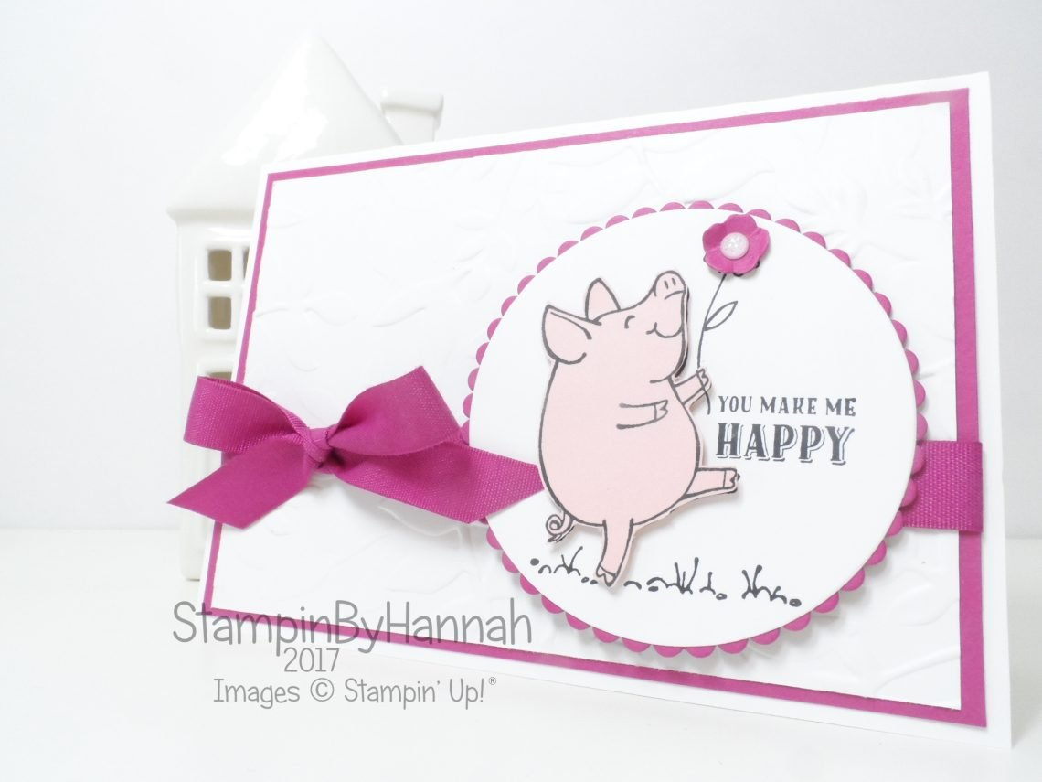 Simple Sunday This Little Piggy from Stampin' Up!