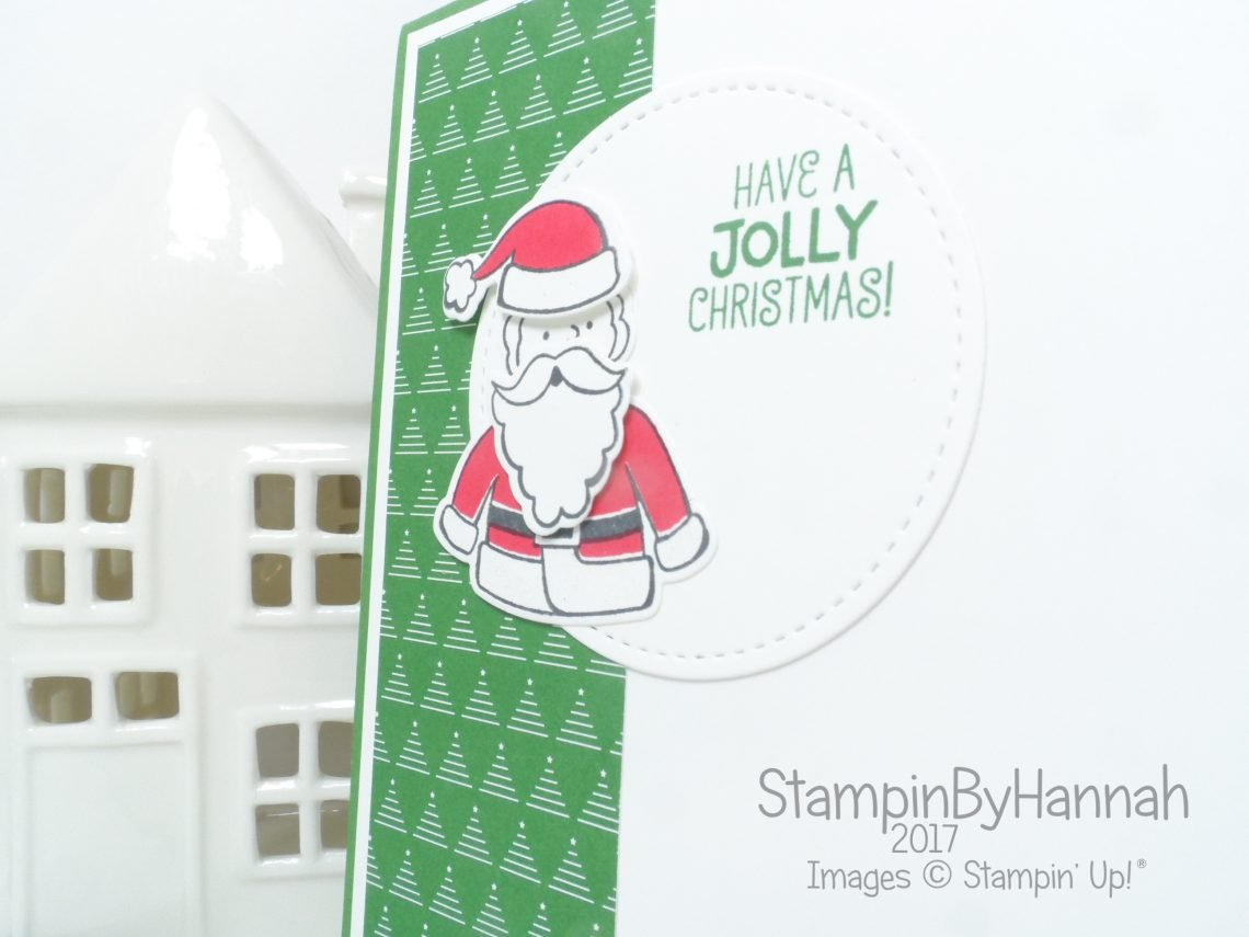 Make It Monday Card making Video Tutorial Swap card using Santa's Suite from Stampin' Up!