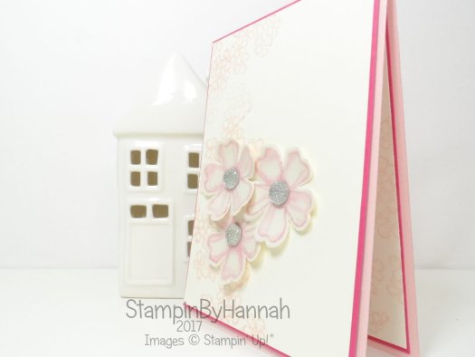 Perfect Floral Birthday Wedding Card using Birthday Blossoms Stamp Set from Stampin' Up!