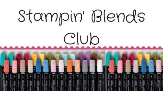 Stampin' Up! UK Stampin' Blends Club StampinByHannah
