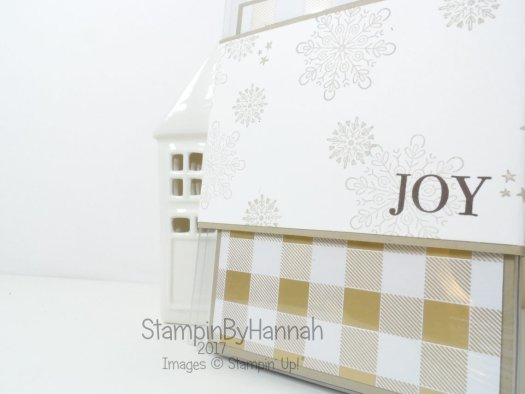 How to make a set of Christmas Cards for a Craft Fair using Year of Cheer from Stampin' Up!