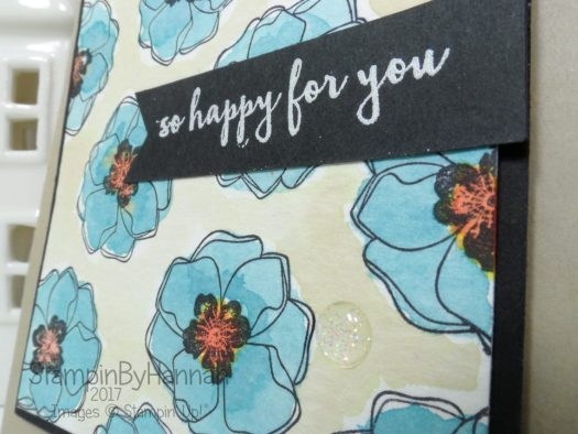 So Happy for You Card using Colour Me Happy from Stampin' Up!