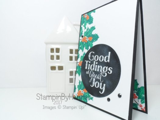 Make It Monday 2 Step Stamping with Good Tidings from Stampin' Up!