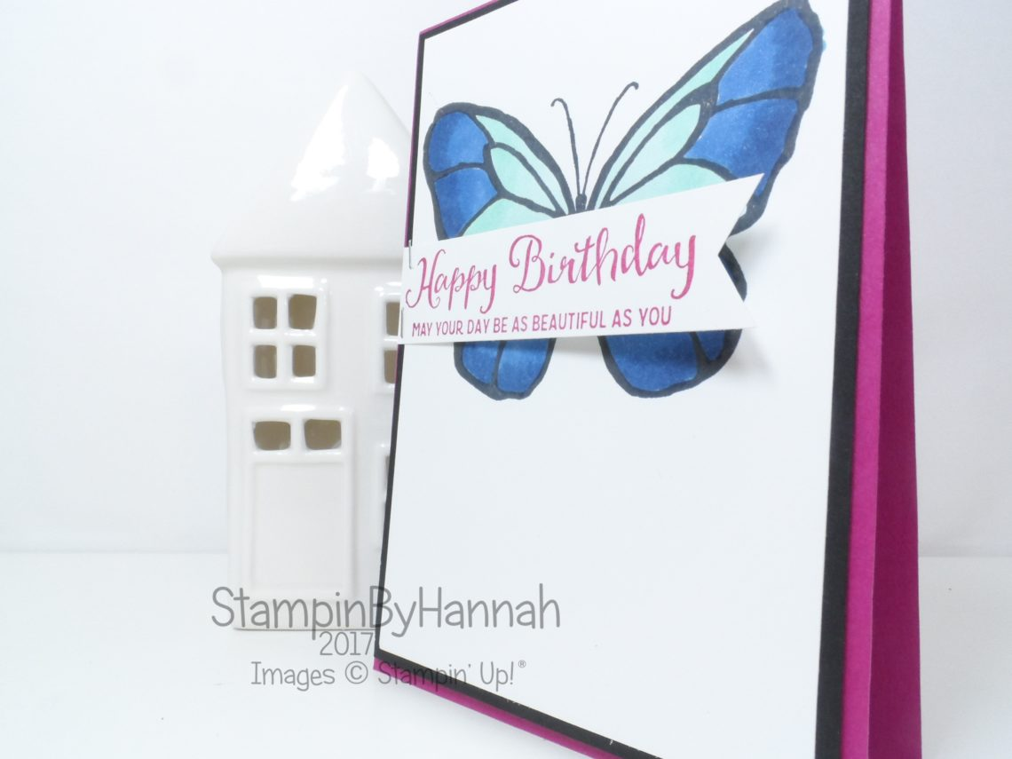 Beautiful Day Birthday Card using Stampin' Blends from Stampin' Up!