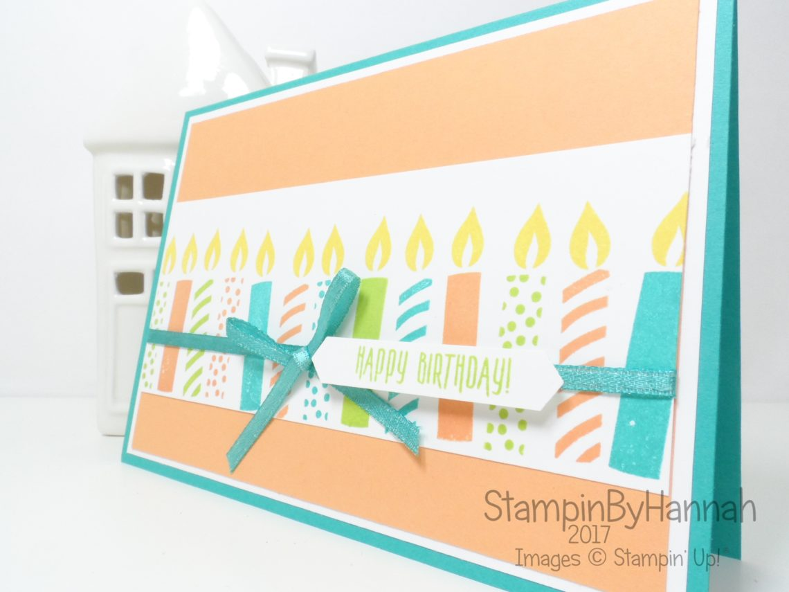 StampinByHannah Email Subscriber Exclusive Birthday Card using Picture Perfect Birthday from Stampin' Up!
