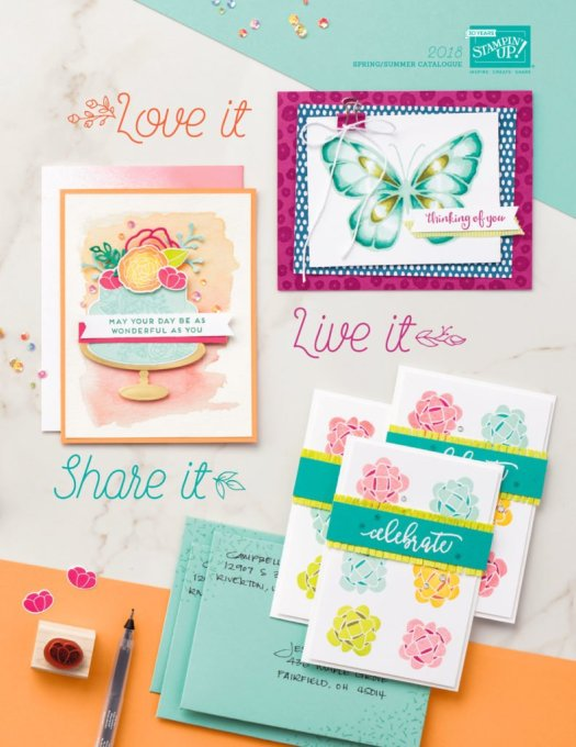 Spring Summer Catalogue Stampin' Up!