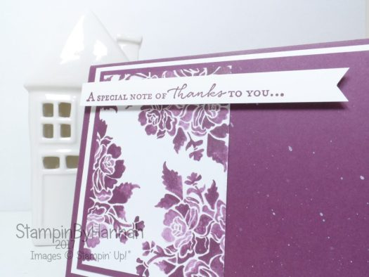 Inspire.Create.Challenge Sketch Challenge using Fresh Floral from Stampin' Up!