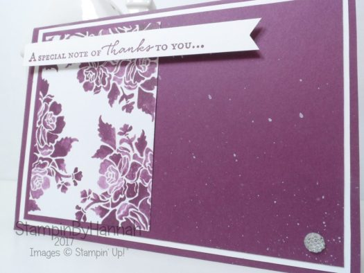 How to use a sketch to make a card for Inspire.Create.Challenges using Stampin' Up! products