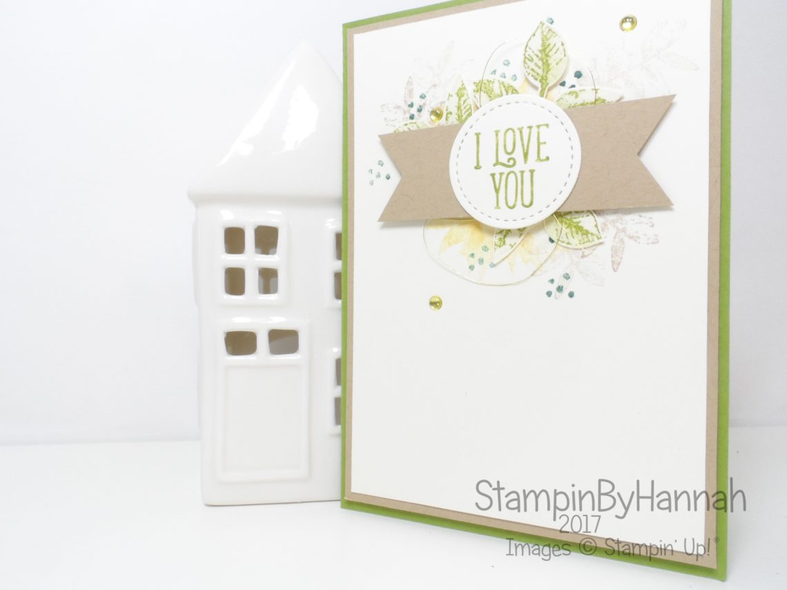 Valentines Card using Painted Harvest and Happy Birthday Gorgeous from Stampin' Up!