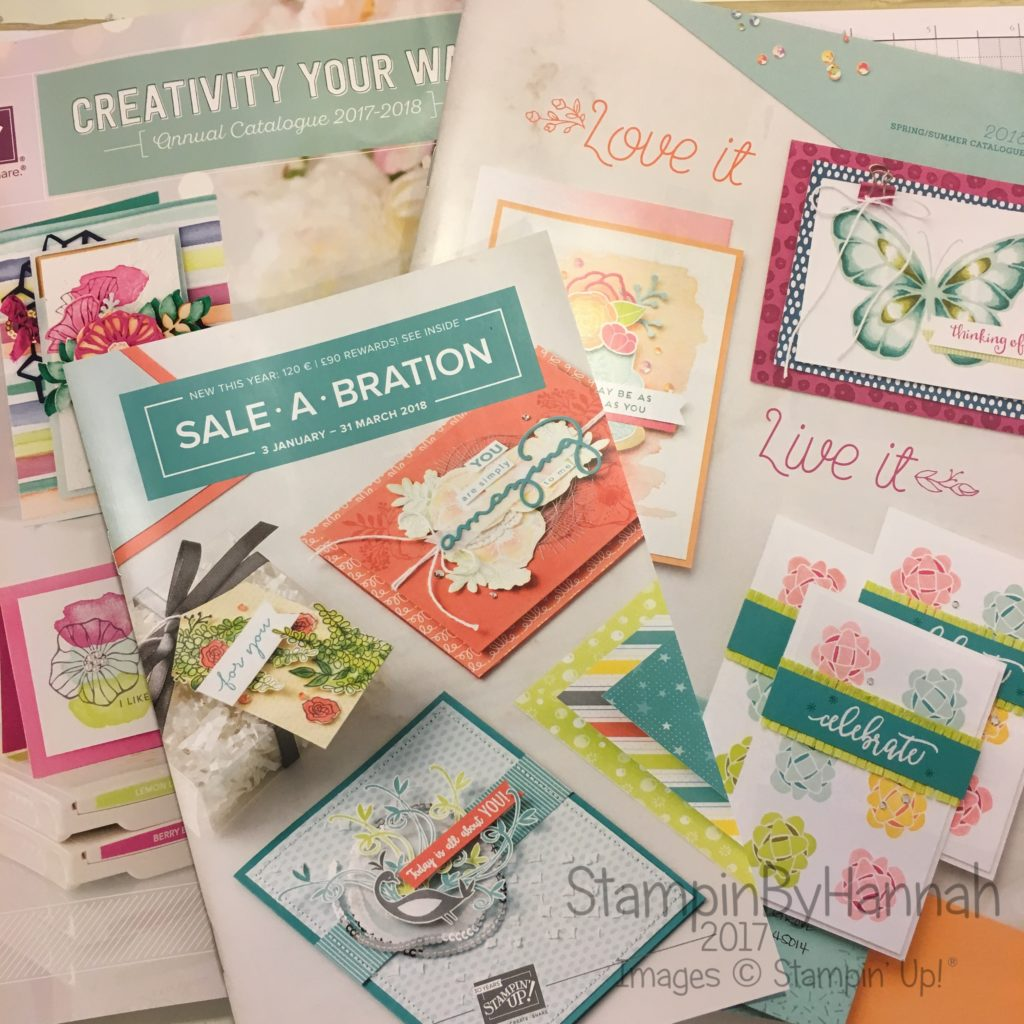 Request a Stampin' Up! Catalogue