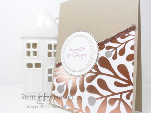 Cheers to the Year Stamp of the Month Club using Year of Cheer from Stampin' Up!
