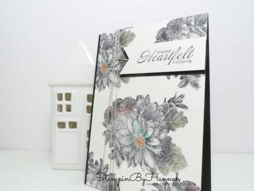 Heartfelt Blooms Cathy Collins Case using Stampin' Up! Sale-a-bration stamps