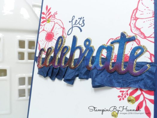 Celebrating Sale-a-bration with Pootles and the team with Amazing You from Stampin' Up!