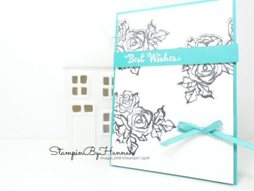 Coordinating Die Cut Windows using Petal Palette from Stampin' Up!