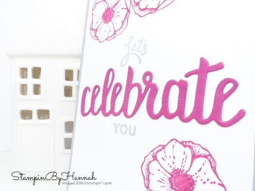 StampinByHannah Cardmaking Techniques Video Tutorial how to create a DIY sentiment with Amazing You from Stampin' Up!