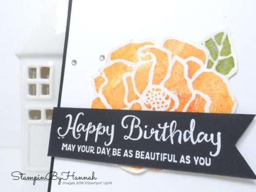 Techniques with StampinByHannah how to use Brusho from Stampin' Up!