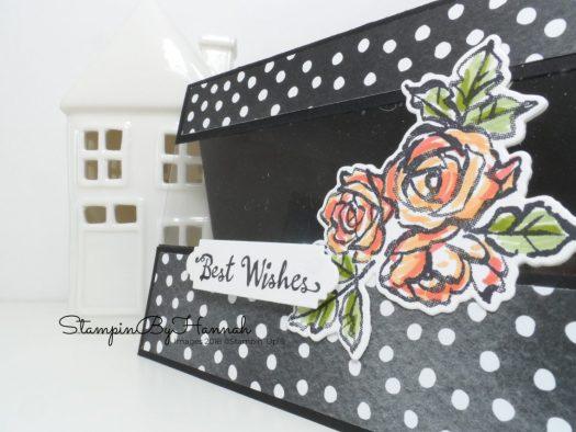 Make It Monday Video Tutorial Petal Palette Window Card using Stampin' Up! supplies