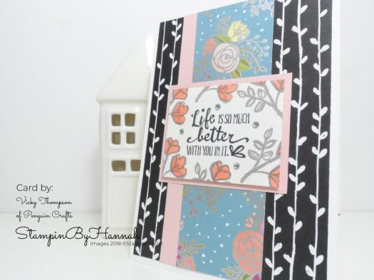 Pootlers Spring Summer Team Swaps using Petal Palette from Stampin' Up!