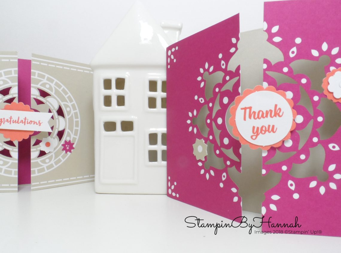 Stampin' Up! Mixed Medallions Card Kit with StampinByHannah