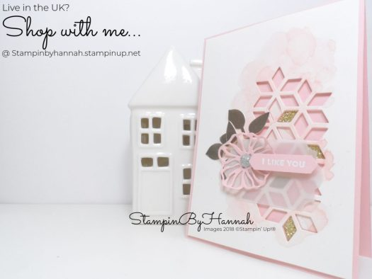 Pretty Wedding Card using Oh So Eclectic from Stampin' Up!