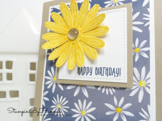 Delightful Daisy Birthday Card using Stampin' Up! products