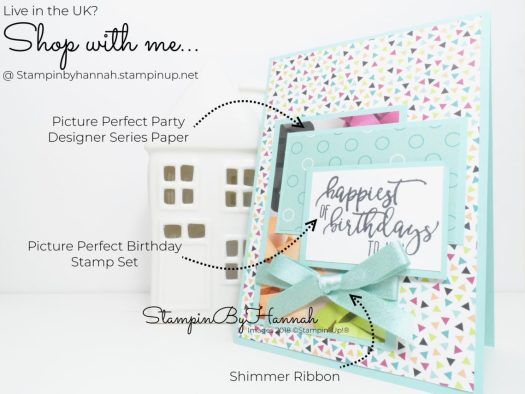 Quick and Easy Birthday Card Tutorial Using Picture Perfect Birthday from Stampin' Up!